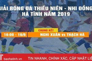 Nghi Xuân, Thạch Hà xuất sắc vào chung kết nhi đồng Hà Tĩnh