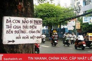 Những thông điệp dễ thương trên đường phố