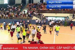Thắng nhi đồng Nghi Xuân, Thạch Hà vô địch Giải bóng đá Thiếu niên - Nhi đồng Hà Tĩnh