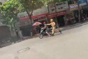 Nam thanh niên điều khiển xe máy chạy trốn CSGT và cái kết đắng