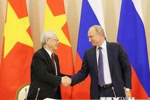 Kỷ niệm 25 năm ký kết Hiệp ước nguyên tắc cơ bản của quan hệ Việt-Nga