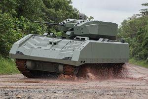 Đo công lực xe chiến đấu bộ binh số 1 Singapore