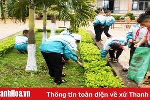 Quan tâm giáo dục bảo vệ môi trường trong trường học