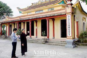 Nam Định: Gìn giữ giá trị văn hóa làng cổ Bách Cốc