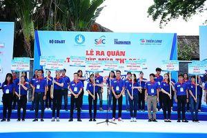 TP Hồ Chí Minh: 20.000 lượt sinh viên tình nguyện tham gia 'Tiếp sức mùa thi'
