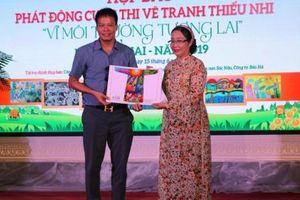 Cuộc thi vẽ tranh thiếu nhi 'Vì môi trường tương lai': Sân chơi bổ ích cho thiếu nhi Việt Nam