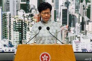 Hong Kong tuyên bố dừng thông qua Dự luật dẫn độ