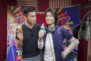 'Mr Cần Trô' Xuân Nghị - Quang Trung hóa thân hài hước trong 'Toy Story 4'