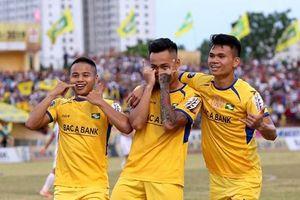 Vòng 13 V-League 2019: SLNA 'đè bẹp' HAGL, Hải Phòng thua đậm