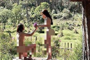 Bất ngờ hình thức xử phạt đối với cặp đôi chụp ảnh khỏa thân tại Đà Lạt