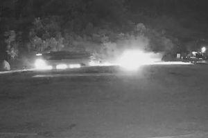 Xe chở sắt đâm xe khách trong đêm ở Hòa Bình