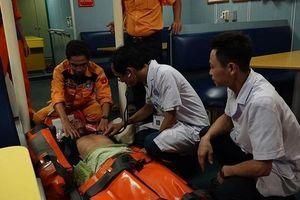 Cứu kịp thời thuyền viên bị tai biến tại vùng biển quần đảo Hoàng Sa