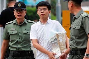Thủ lĩnh biểu tình Hồng Kông được thả sớm