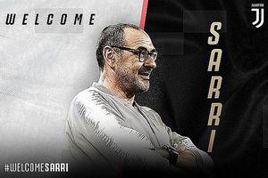 HLV Maurizio Sarri chính thức dẫn dắt Juventus