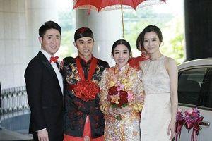 Sau ái nữ 'vua sòng bạc', thiên kim Hong Kong khệ nệ vòng vàng trong ngày cưới
