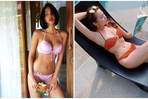 Bạn thân Kỳ Duyên bị fan nhắc nhở khi diện bikini nhưng lại cầm sách sát vùng nhạy cảm