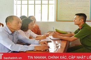 Mở diễn đàn, Công an thị xã Hồng Lĩnh 'lắng nghe' hàng trăm ý kiến nhân dân