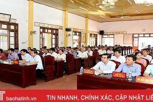 Cử tri Hương Sơn mong muốn đầu tư nâng cấp đê Tân Long, đảm bảo an toàn trong mùa mưa bão