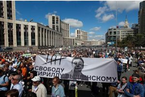 Biểu tình tại Nga phản đối vụ bắt giữ nhà báo Golunov