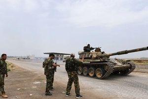 Quân đội Syria tăng cường truy quét khủng bố tại Idlib và Hama