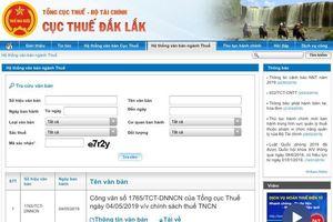 Cục Thuế tỉnh Đắk Lắk khẳng định không bán tài liệu về chính sách, pháp luật về thuế