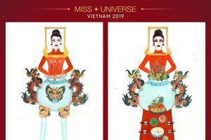 Top 10 thiết kế dẫn đầu bình chọn National Costume: Mẫu Hoàng Thùy ưng ý bao nhiêu điểm?