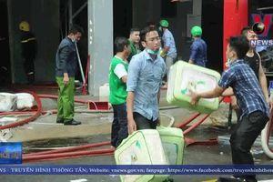 Cháy lớn tại 02 công ty tại TP Hồ Chí Minh vào rạng sáng