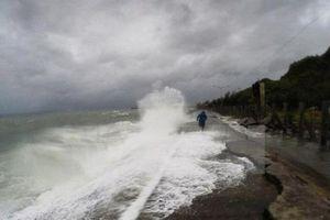 Các vùng biển phía Nam thời tiết còn diễn biến xấu kéo dài