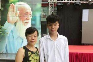 Con trai của nữ lao công bị xe đâm tử vong đỗ lớp 10 trường Lương Thế Vinh