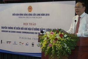 Phát triển bền vững Đồng bằng sông Cửu Long thích ứng với biến đổi khí hậu