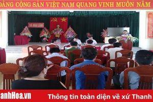 Triển khai phương án cưỡng chế thu hồi đất xây dựng dự án tại xã Mai Lâm
