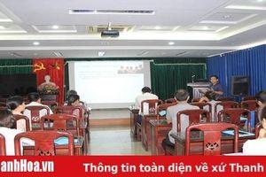 Khai giảng khóa đào tạo bồi dưỡng doanh nhân tại thị xã Bỉm Sơn
