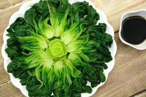 Ngắm những đĩa rau luộc xanh mướt, đẹp tuyệt như một 'vườn rau nghệ thuật'