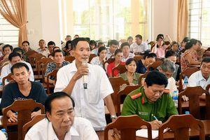 Thay đổi lịch tiếp xúc cử tri trước kỳ họp thứ chín HĐND thành phố Hà Nội