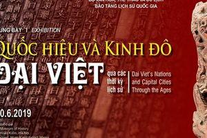 Trưng bày chuyên đề 'Quốc hiệu và Kinh đô Đại Việt qua các thời kỳ lịch sử'