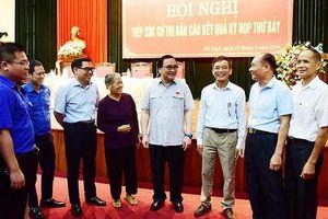 Bí thư Thành ủy Hà Nội: Mê Linh cần có thêm các cuộc đối thoại để lắng nghe ý dân