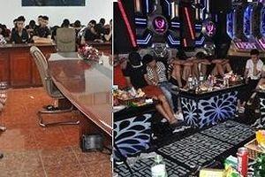 Đột kích 2 quán karaoke, xác định 103 đối tượng dương tính với ma túy