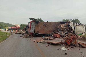 Nhiều thương vong vụ va chạm xe biển số Lào
