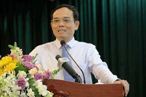 Ông Trần Lưu Quang nói với cử tri quận 1 về tín dụng đen