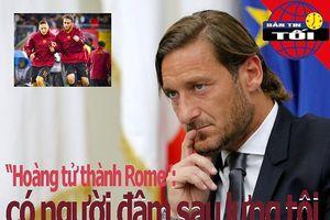 Totti: Có người đâm sau lưng tôi; Hà Nội đè bẹp TP.HCM II