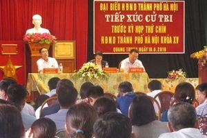Cử tri Phú Xuyên quan tâm đến lĩnh vực giao thông