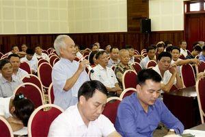 Cử tri huyện Gia Lâm kiến nghị nhiều vấn đề liên quan đến đất đai