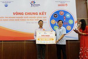 Chung kết cuộc thi doanh nghiệp khởi nghiệp sáng tạo ứng dụng công nghệ thông tin phát triển du lịch