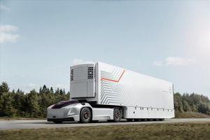 Xe đầu kéo không người lái giúp vận chuyển hàng hóa dễ dàng