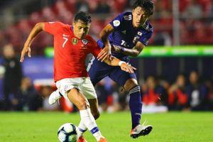 Sanchez khai hỏa, Chile vùi dập U22 Nhật Bản + 5 không thương tiếc