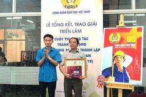 Triển lãm cuộc thi sáng tác tranh cổ động chào mừng 90 năm thành lập Công đoàn Việt Nam