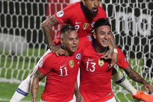 Vargas lập siêu phẩm bàn thắng, Chile đè bẹp 'samurai' Nhật Bản