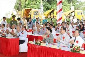 Chủ tịch Quốc hội Nguyễn Thị Kim Ngân dự Lễ khởi công xây dựng Đền thờ các Vua Hùng tại Cần Thơ