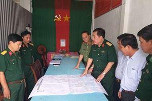 Kiểm tra công tác phối hợp giữa dân quân tự vệ với các lực lượng tại tỉnh Trà Vinh