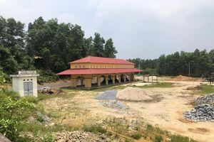 Dự án tái định cư 'đắp chiếu' ở Thái Nguyên: Thêm công trình 'chết' tại Đồi Tròn